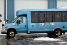 A Dial-A-Ride bus, from the City of Hillsdale web site.